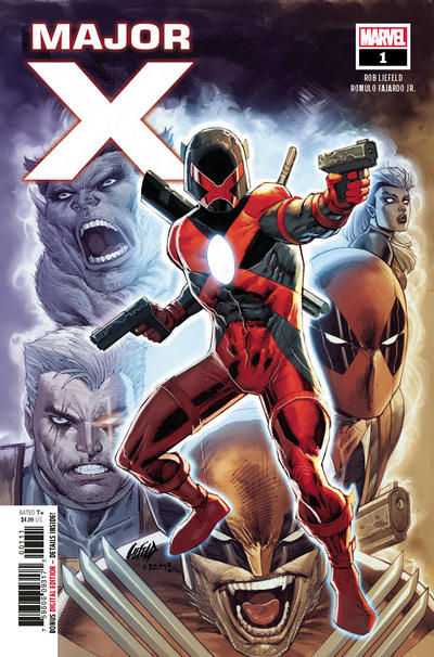 Cover for Major X (Marvel, 2019 series) #1