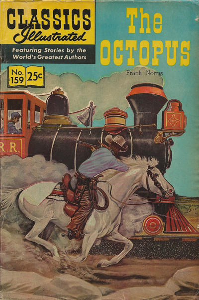 Cover for Classics Illustrated (Gilberton, 1947 series) #159 [O] - The Octopus