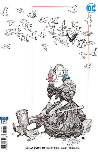 Cover for Harley Quinn (DC, 2016 series) #60 [Frank Cho]