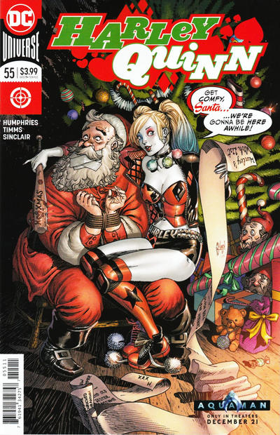 Cover for Harley Quinn (DC, 2016 series) #55 [Frank Cho]
