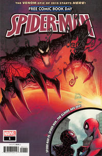 Cover Thumbnail for Free Comic Book Day 2019 (Spider-Man/Venom) (Marvel, 2019 series) #1