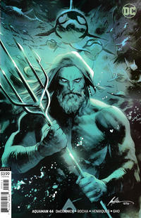Cover Thumbnail for Aquaman (DC, 2016 series) #44 [Rafael Albuquerque Variant Cover]