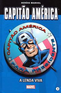 Cover Thumbnail for Marvel Série I (Levoir, 2012 series) #3 - Capitão América - A Lenda Viva