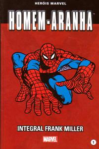 Cover Thumbnail for Marvel Série I (Levoir, 2012 series) #1 - Homem-Aranha - Integral Frank Miller