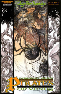 Cover Thumbnail for Edgar Rice Burroughs' Carson of Venus: Pirates of Venus (American Mythology Productions, 2018 series) #1 [Main Cover Edition]
