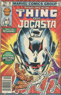 Cover Thumbnail for Marvel Two-in-One (Marvel, 1974 series) #92 [Canadian]