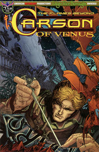 Cover for Edgar Rice Burroughs' Carson of Venus: The Flames Beyond (American Mythology Productions, 2019 series) #1 [Main Cover]