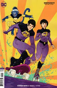 Cover Thumbnail for Wonder Twins (DC, 2019 series) #2 [Ramon Villalobos Cover]