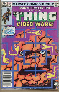 Cover Thumbnail for Marvel Two-in-One (Marvel, 1974 series) #98 [Canadian]