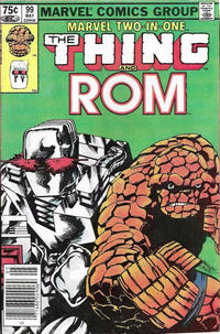 Cover Thumbnail for Marvel Two-in-One (Marvel, 1974 series) #99 [Canadian]