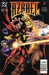 Cover Thumbnail for Azrael (DC, 1995 series) #12 [Newsstand]