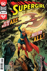 Cover Thumbnail for Supergirl (DC, 2016 series) #29