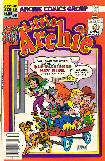 Cover for Little Archie (Archie, 1969 series) #178 [Canadian]