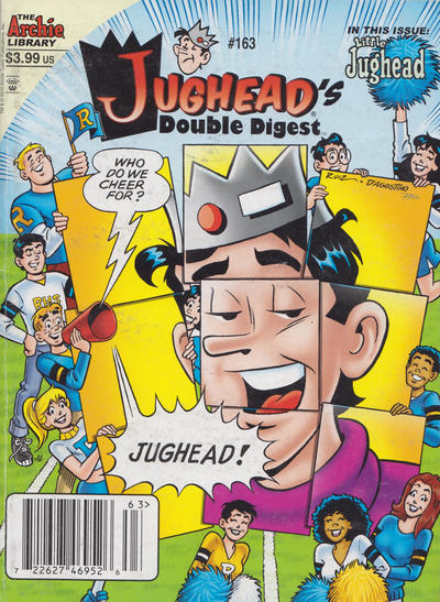 Cover for Jughead's Double Digest (Archie, 1989 series) #163