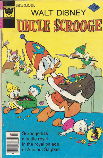 Cover for Uncle Scrooge (Western, 1963 series) #145 [Whitman]