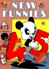 Cover for New Funnies (Dell, 1942 series) #96