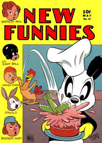 Cover Thumbnail for New Funnies (Dell, 1942 series) #99