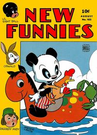Cover Thumbnail for New Funnies (Dell, 1942 series) #102