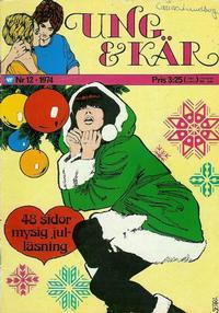 Cover Thumbnail for Ung och kär (Williams Förlags AB, 1972 series) #12/1974