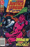 Cover for Justice League Europe (DC, 1989 series) #33 [Newsstand]