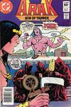 Cover for Arak / Son of Thunder (DC, 1981 series) #14 [Newsstand]
