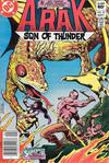 Cover Thumbnail for Arak / Son of Thunder (1981 series) #25 [Newsstand]