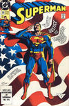 Cover for Superman (DC, 1987 series) #53 [2nd Printing]
