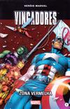 Cover for Marvel Série I (Levoir, 2012 series) #7 - Os Vingadores - Zona Vermelha