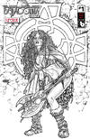 Cover Thumbnail for Belladonna: Fire and Fury (2017 series) #1 [Superior Vintage Celtic Variant]