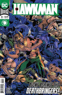 Cover Thumbnail for Hawkman (DC, 2018 series) #11 [Bryan Hitch Cover]