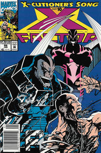 Cover Thumbnail for X-Factor (Marvel, 1986 series) #86 [Newsstand]