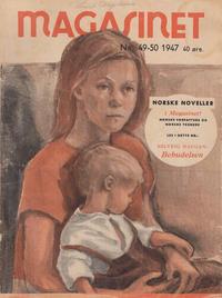 Cover Thumbnail for Magasinet (Oddvar Larsen; Odvar Lamer, 1946 ? series) #49-50/1947