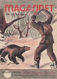 Cover Thumbnail for Magasinet (Oddvar Larsen; Odvar Lamer, 1946 ? series) #7-8/1948