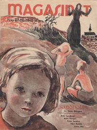 Cover Thumbnail for Magasinet (Oddvar Larsen; Odvar Lamer, 1946 ? series) #27-28/1948