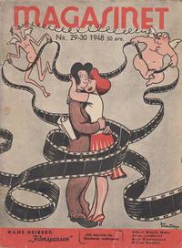 Cover for Magasinet (Oddvar Larsen; Odvar Lamer, 1946 ? series) #29-30/1948