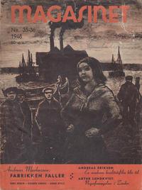 Cover Thumbnail for Magasinet (Oddvar Larsen; Odvar Lamer, 1946 ? series) #35-36/1948