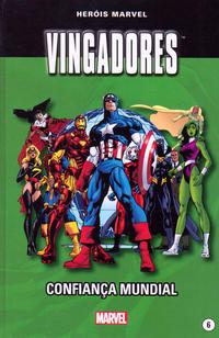 Cover Thumbnail for Marvel Série I (Levoir, 2012 series) #6 - Os Vingadores - Confiança Mundial