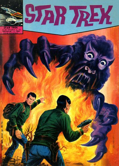 Cover for Star Trek [Albi Spada] (Edizioni Fratelli Spada, 1972 series) #11