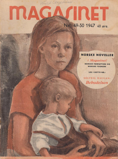 Cover for Magasinet (Oddvar Larsen; Odvar Lamer, 1946 ? series) #49-50/1947