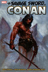 Cover Thumbnail for Savage Sword of Conan: The Original Marvel Years Omnibus (2019 series) #1 [Book Market Cover]
