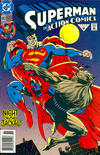 Cover for Action Comics (DC, 1938 series) #683 [Newsstand]