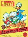 Cover for Almanach du Journal de Mickey (Hachette, 1956 series) #1962