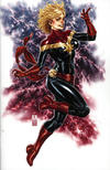 Cover for Captain Marvel (Marvel, 2019 series) #1 [Comic Sketch Art Exclusive - Mark Brooks Virgin Art]