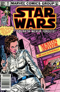 Cover Thumbnail for Star Wars (Marvel, 1977 series) #65 [Newsstand]