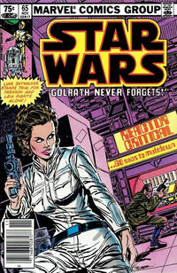 Cover Thumbnail for Star Wars (Marvel, 1977 series) #65 [Canadian]
