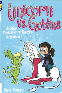 Cover Thumbnail for Phoebe and Her Unicorn (Andrews McMeel, 2014 series) #3 - Unicorns vs. Goblins
