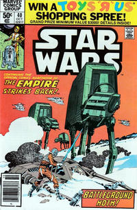 Cover Thumbnail for Star Wars (Marvel, 1977 series) #40 [Newsstand]