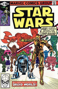 Cover Thumbnail for Star Wars (Marvel, 1977 series) #47 [Direct]