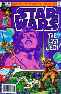 Cover Thumbnail for Star Wars (Marvel, 1977 series) #49 [Newsstand]