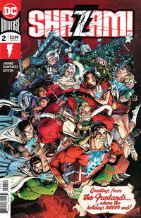 Cover Thumbnail for Shazam! (DC, 2019 series) #2 [Second Printing]